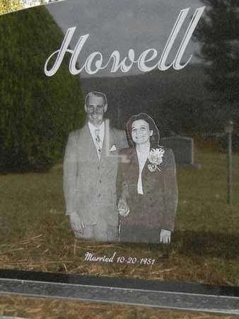 HOWELL (BACK), OPAL DORICELENE - Madison County, Alabama | OPAL DORICELENE HOWELL (BACK) - Alabama Gravestone Photos