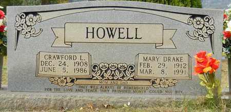 HOWELL, CRAWFORD L - Madison County, Alabama | CRAWFORD L HOWELL - Alabama Gravestone Photos