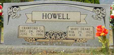 DRAKE HOWELL, MARY - Madison County, Alabama | MARY DRAKE HOWELL - Alabama Gravestone Photos