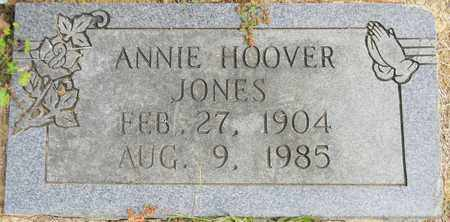 HOOVER JONES, ANNIE - Madison County, Alabama | ANNIE HOOVER JONES - Alabama Gravestone Photos
