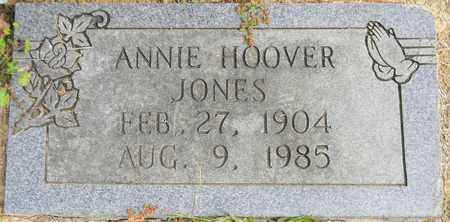 HOOVER JONES, ANNIE - Madison County, Alabama | ANNIE HOOVER JONES - Alabama Gravestone Photos