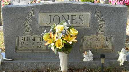 JONES, R VIRGINIA - Madison County, Alabama | R VIRGINIA JONES - Alabama Gravestone Photos