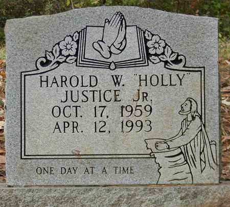 JUSTICE, JR, HAROLD W - Madison County, Alabama | HAROLD W JUSTICE, JR - Alabama Gravestone Photos