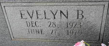 KNOWLES (CLOSEUP), EVELYN B - Madison County, Alabama | EVELYN B KNOWLES (CLOSEUP) - Alabama Gravestone Photos