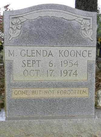 KOONCE, M GLENDA - Madison County, Alabama | M GLENDA KOONCE - Alabama Gravestone Photos