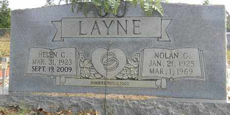 LAYNE, HELEN G - Madison County, Alabama | HELEN G LAYNE - Alabama Gravestone Photos