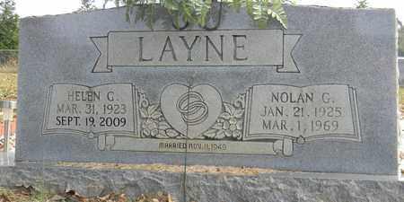 LAYNE, NOLAN G - Madison County, Alabama | NOLAN G LAYNE - Alabama Gravestone Photos