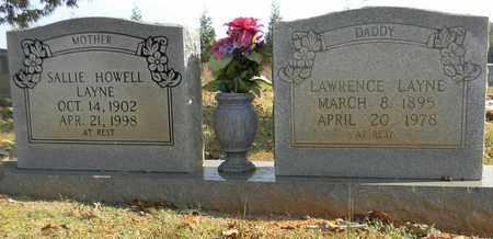 HOWELL LAYNE, SALLIE - Madison County, Alabama   SALLIE HOWELL LAYNE - Alabama Gravestone Photos