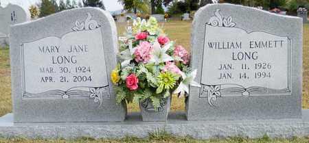 LONG, WILLIAM EMMETT - Madison County, Alabama | WILLIAM EMMETT LONG - Alabama Gravestone Photos
