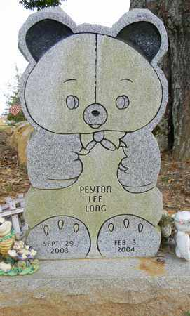 LONG, PEYTON LEE - Madison County, Alabama | PEYTON LEE LONG - Alabama Gravestone Photos
