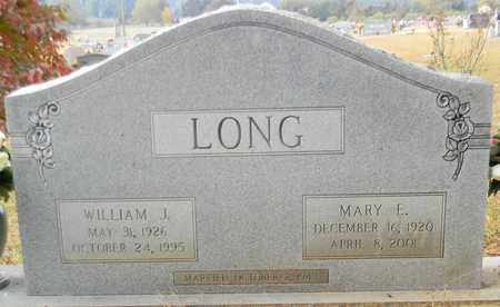 LONG, MARY E - Madison County, Alabama | MARY E LONG - Alabama Gravestone Photos
