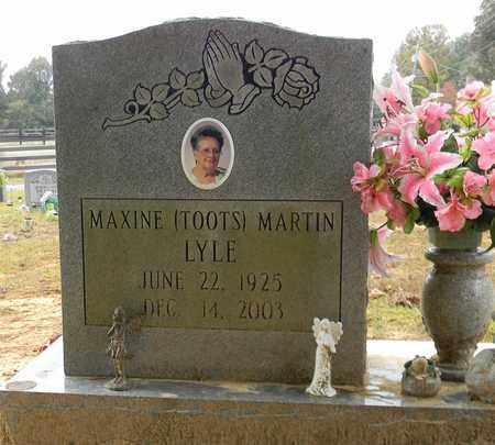 MARTIN LYLE, MAXINE - Madison County, Alabama | MAXINE MARTIN LYLE - Alabama Gravestone Photos