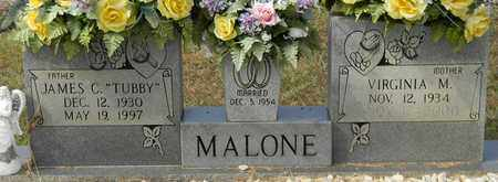 MALONE, VIRGINIA M - Madison County, Alabama | VIRGINIA M MALONE - Alabama Gravestone Photos