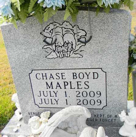 MAPLES, CHASE BOYD - Madison County, Alabama | CHASE BOYD MAPLES - Alabama Gravestone Photos