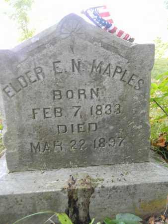 MAPLES, JR, ELDER EDWARD NOAH - Madison County, Alabama | ELDER EDWARD NOAH MAPLES, JR - Alabama Gravestone Photos