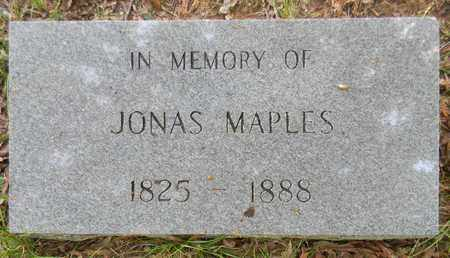 MAPLES, JONAS - Madison County, Alabama | JONAS MAPLES - Alabama Gravestone Photos