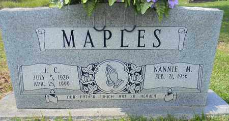 MAPLES, J C - Madison County, Alabama | J C MAPLES - Alabama Gravestone Photos