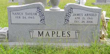 MAPLES, JAMES ARNOLD - Madison County, Alabama | JAMES ARNOLD MAPLES - Alabama Gravestone Photos