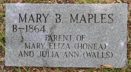 MAPLES, MARY B - Madison County, Alabama | MARY B MAPLES - Alabama Gravestone Photos