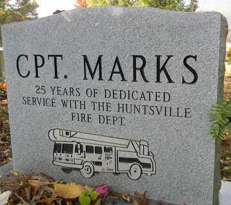 MARKS (BACK), DONALD W - Madison County, Alabama | DONALD W MARKS (BACK) - Alabama Gravestone Photos