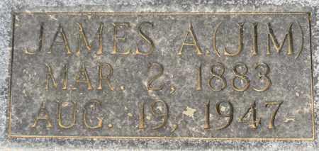 MARTIN (CLOSEUP), JAMES A - Madison County, Alabama | JAMES A MARTIN (CLOSEUP) - Alabama Gravestone Photos