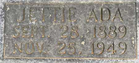 MARTIN (CLOSEUP), JETTIE ADA - Madison County, Alabama | JETTIE ADA MARTIN (CLOSEUP) - Alabama Gravestone Photos