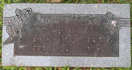 MARTIN, JOHN WILLIAM - Madison County, Alabama | JOHN WILLIAM MARTIN - Alabama Gravestone Photos