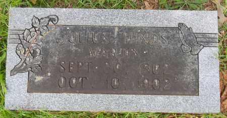 MARTIN, JULIUS HINDS - Madison County, Alabama | JULIUS HINDS MARTIN - Alabama Gravestone Photos