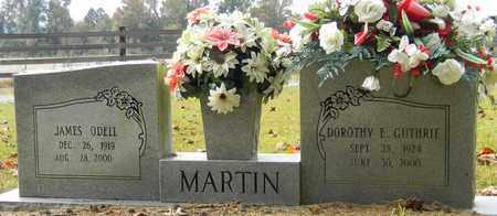 GUTHRIE MARTIN, DOROTHY E - Madison County, Alabama   DOROTHY E GUTHRIE MARTIN - Alabama Gravestone Photos