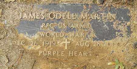 MARTIN (VETERAN WWII), JAMES ODELL - Madison County, Alabama | JAMES ODELL MARTIN (VETERAN WWII) - Alabama Gravestone Photos