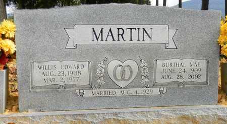 MARTIN, WILLIS EDWARD - Madison County, Alabama | WILLIS EDWARD MARTIN - Alabama Gravestone Photos
