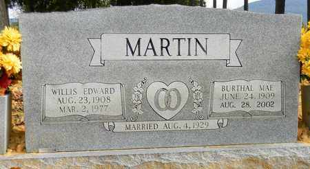 MARTIN, WILLIS EDWARD - Madison County, Alabama | WILLIS EDWARD MARTIN - Alabama Gravestone Photos