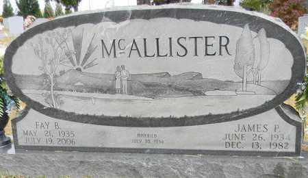 MCALLISTER, JAMES P - Madison County, Alabama | JAMES P MCALLISTER - Alabama Gravestone Photos