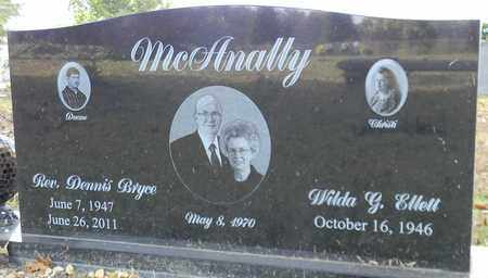 MCANALLY, REV, DENNIS BRYCE - Madison County, Alabama | DENNIS BRYCE MCANALLY, REV - Alabama Gravestone Photos