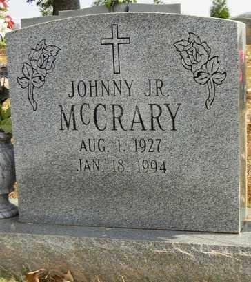 MCCRARY, JR, JOHNNY - Madison County, Alabama | JOHNNY MCCRARY, JR - Alabama Gravestone Photos