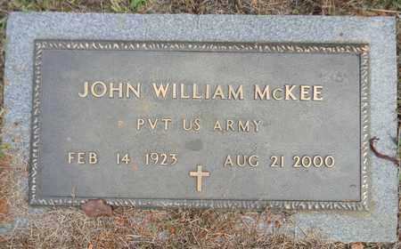 MCKEE (VETERAN), JOHN WILLIAM - Madison County, Alabama | JOHN WILLIAM MCKEE (VETERAN) - Alabama Gravestone Photos