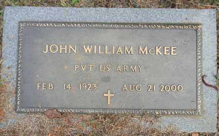 MCKEE (VETERAN), JOHN WILLIAM - Madison County, Alabama | JOHN WILLIAM MCKEE (VETERAN) - Alabama Gravestone Photos
