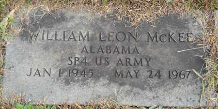 MCKEE (VETERAN), WILLIAM LEON - Madison County, Alabama | WILLIAM LEON MCKEE (VETERAN) - Alabama Gravestone Photos