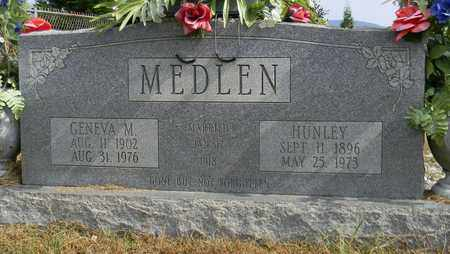 MEDLEN, HUNLEY - Madison County, Alabama | HUNLEY MEDLEN - Alabama Gravestone Photos