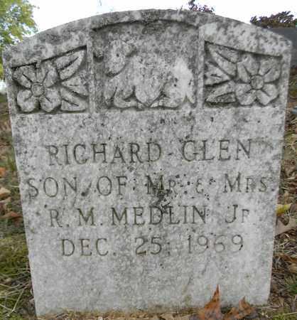 MEDLIN, RICHARD GLEN - Madison County, Alabama | RICHARD GLEN MEDLIN - Alabama Gravestone Photos