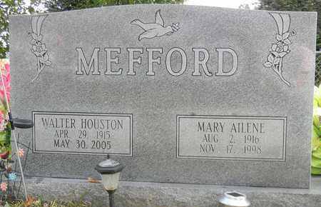 MEFFORD, WALTER HOUSTON - Madison County, Alabama | WALTER HOUSTON MEFFORD - Alabama Gravestone Photos