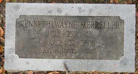 MERRELL, II, KENNETH WAYNE - Madison County, Alabama | KENNETH WAYNE MERRELL, II - Alabama Gravestone Photos