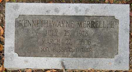 MERRELL, II, KENNETH WAYNE - Madison County, Alabama | KENNETH WAYNE MERRELL, II - Alabama Gravestone Photos