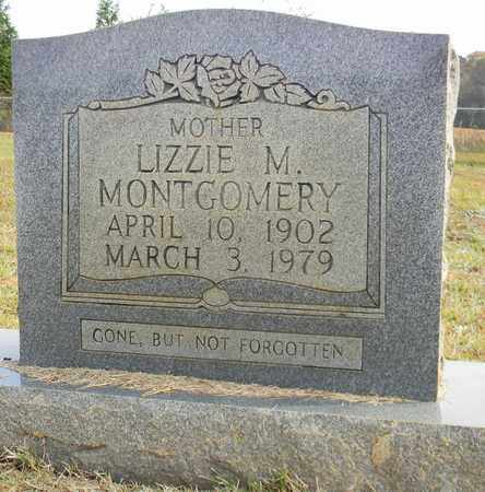 MONTGOMERY, LIZZIE M - Madison County, Alabama | LIZZIE M MONTGOMERY - Alabama Gravestone Photos