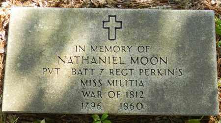 MOON (VETERAN 1812), NATHANIEL - Madison County, Alabama | NATHANIEL MOON (VETERAN 1812) - Alabama Gravestone Photos