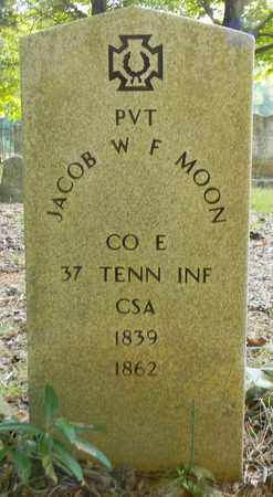 MOON (VETERAN CSA), JACOB W F - Madison County, Alabama | JACOB W F MOON (VETERAN CSA) - Alabama Gravestone Photos