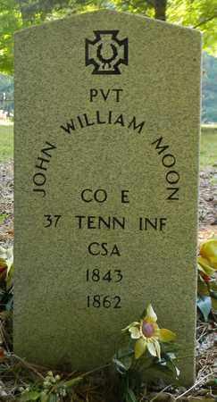 MOON (VETERAN CSA), JOHN WILLIAM - Madison County, Alabama | JOHN WILLIAM MOON (VETERAN CSA) - Alabama Gravestone Photos