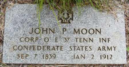 MOON (VETERAN CSA), JOHN P - Madison County, Alabama   JOHN P MOON (VETERAN CSA) - Alabama Gravestone Photos