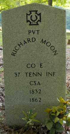 MOON (VETERAN CSA), RICHARD - Madison County, Alabama | RICHARD MOON (VETERAN CSA) - Alabama Gravestone Photos