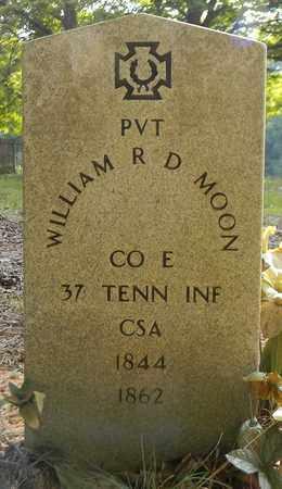 MOON, WILLIAM R D - Madison County, Alabama | WILLIAM R D MOON - Alabama Gravestone Photos